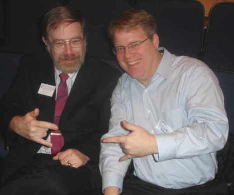Bill Austin and Robert Scoble in Phoenix Arizona